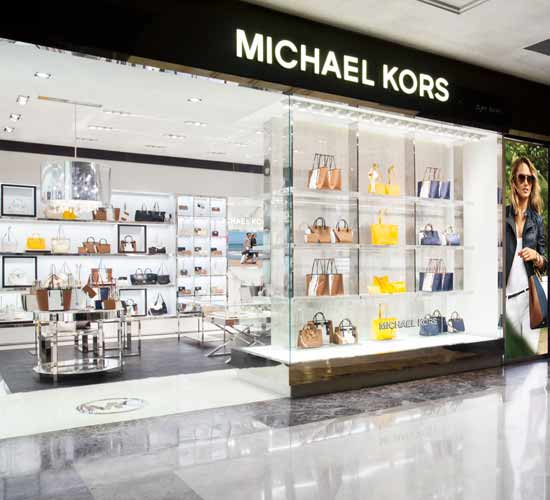 Michael kors unveils its first store in bangalore for Michaels craft store watches